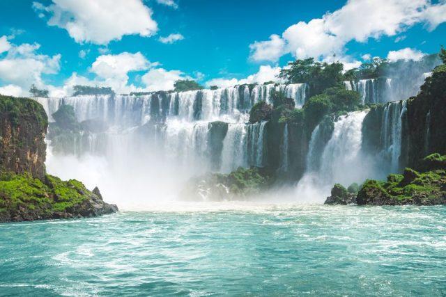 Iguazu vodopád