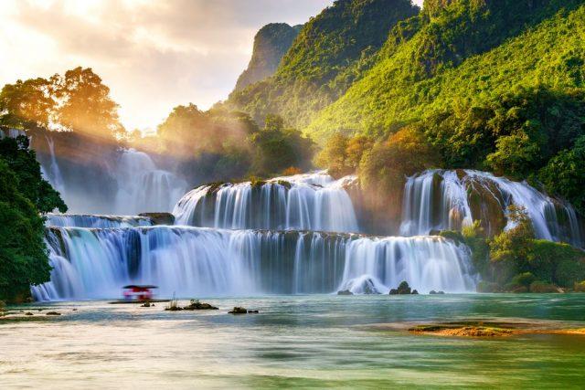 Vodopád Bản Giốc Vietnam
