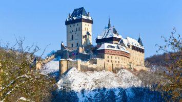 advent na hradech a na Karlštejně