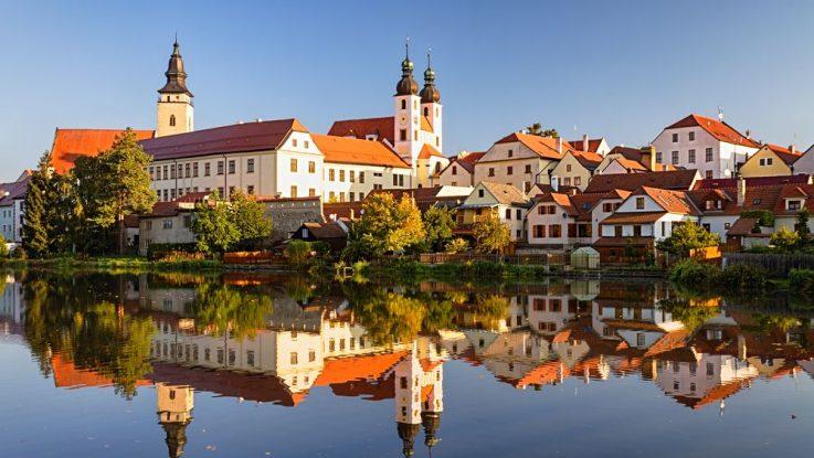 Zámek a město Telč