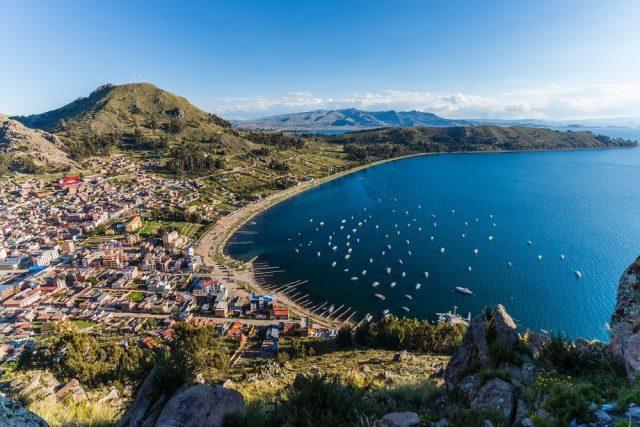 Jezero Titicaca a Copagabana