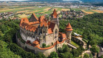 hrad Kreuzenstein
