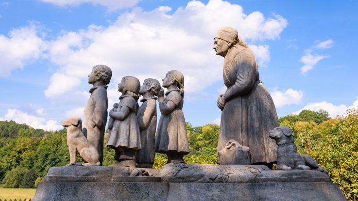 Památník v Ratibořicích, Božena Němcová