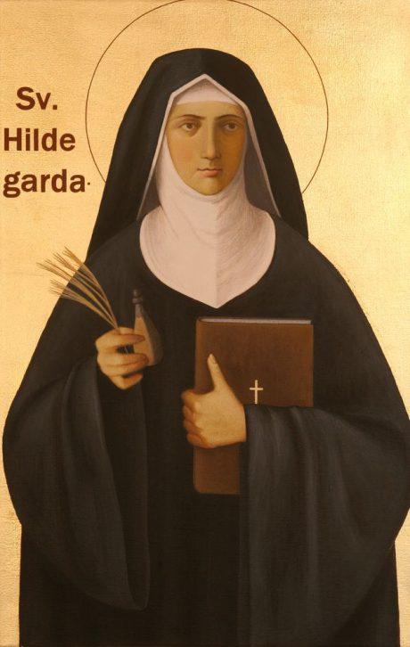 Svatá Hildegarda z Bingenu