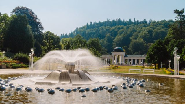 Mariánské lázně Zpívající fontána