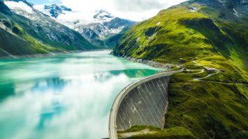 Kaprunské přehrady Rakousko