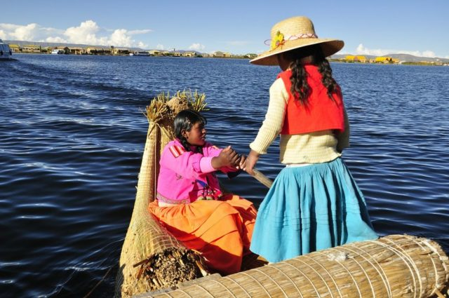 Jezero Titicaca Peru