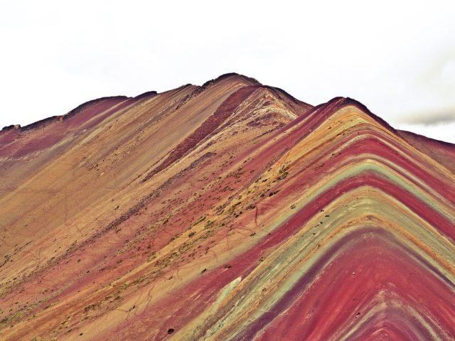 Duhová hora Peru