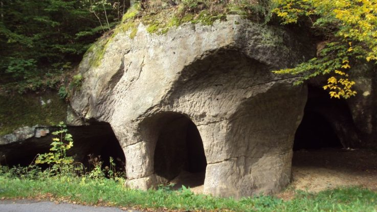 jeskyně Pusté kostely na českolipsku