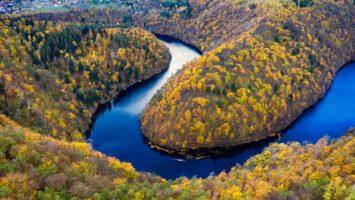 Vyhlídka Máj na řeku Vltavu