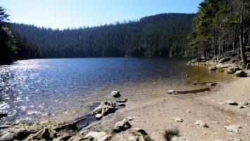 Čertovo jezero na Šumavě
