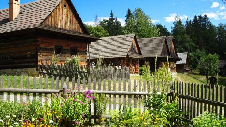 skanzen Valašské muzeum v přírodě v Rožnově pod Radhoštěm