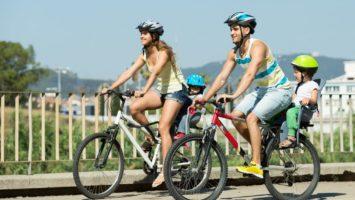 Cyklovýlet s dětmi