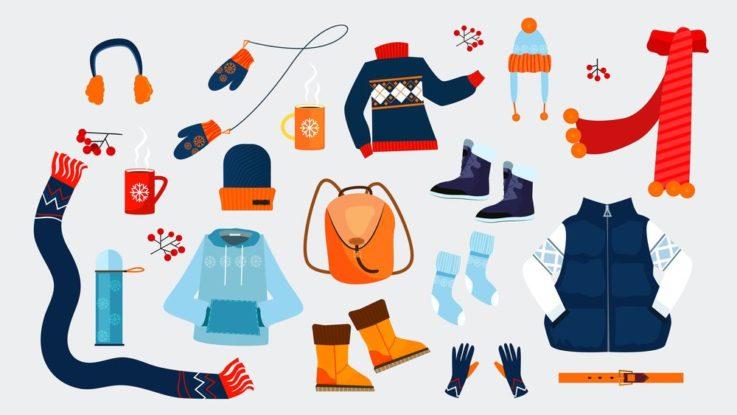 Oblečení na zimní výlety