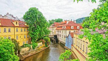 Praha a kampa, pražské benátky