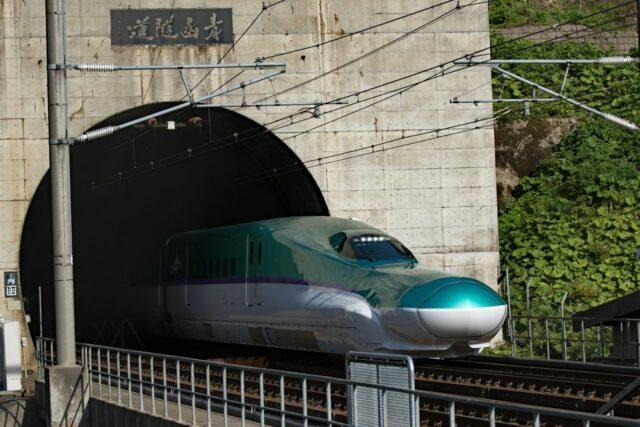 Nejdelší podmořský tunel na světě Seikan v Japonsku